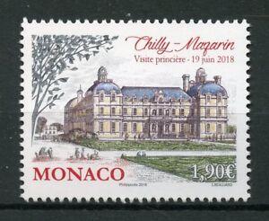Monaco-2018-MNH-Chilly-Mazarin-Grimaldi-Strongholds-1v-Set-Architecture-Stamps