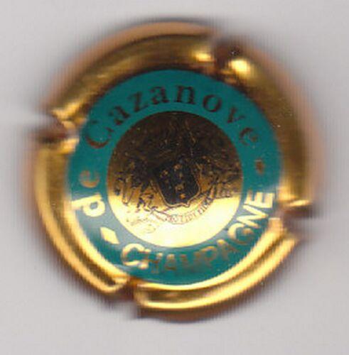 capsule champagne DE CAZANOVE Contour OR