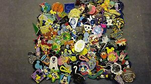DISNEY-PINS-60-DIFFERENT-PINS-MIXED-LOT-FAST-USA-SELLER