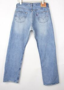 Levi's Strauss & Co Hommes 501 Jeans Jambe Droite Taille W36 L34
