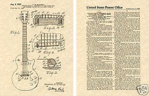 Gibson Les Paul Verni Estampe Guitare Ted Mccarty 1955 Prêt à Cadre Avoir à La Fois La Qualité De TéNacité Et De Dureté