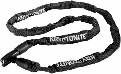 Kryptonite Keeper 411 Chain Lock with Key Black 4 x 110cm