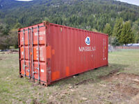 20' USED Good Quality Shipping Container / Sea can / Storage Delta/Surrey/Langley Greater Vancouver Area Preview