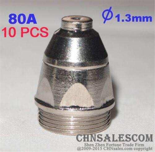 10 PCS P-80 High Frequency Plasma Cutter Pilot Arc Torch TIP 1.3 80A
