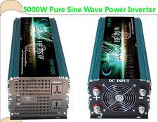5000W HF Pure Sine Wave Power Inverter, DC 12V to AC 110V,60hz, tool