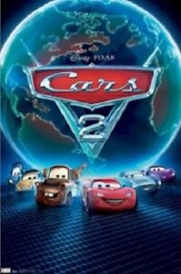 Arabalar 2/Cars 2 (2011) | Disney cars, Lightning mcqueen ... |Cars Movie Poster Free Candy