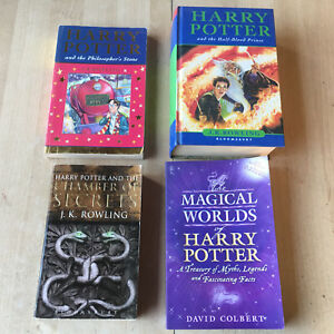 Details Sur Lot 4 Livres Harry Potter En Anglais 3 Romans 1 Hs