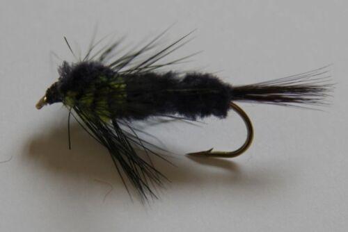 12 Montana choisir couleur Long Jarret STD pêche à la mouche mouches libellules post gratuit