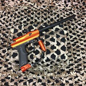 USED-Azodin-Kaos-2-Semi-Auto-Paintball-Gun-Marker-Orange