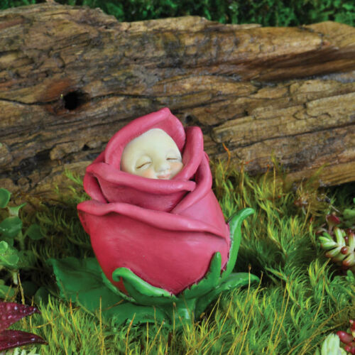 Choose Your Month! FiddleHead Fairy Garden FLOWER BUD BABIES Figurine