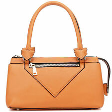 "NEU Thompson Luxury Bags ""Stacey"" Orange, echt Leder, Tasche Handtasche UVP 276€"