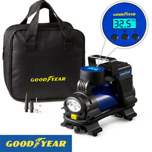 Goodyear-Digital-Tyre-Air-Compressor-Inflator-For-Cars-Vans-Motorbikes-Bicycle