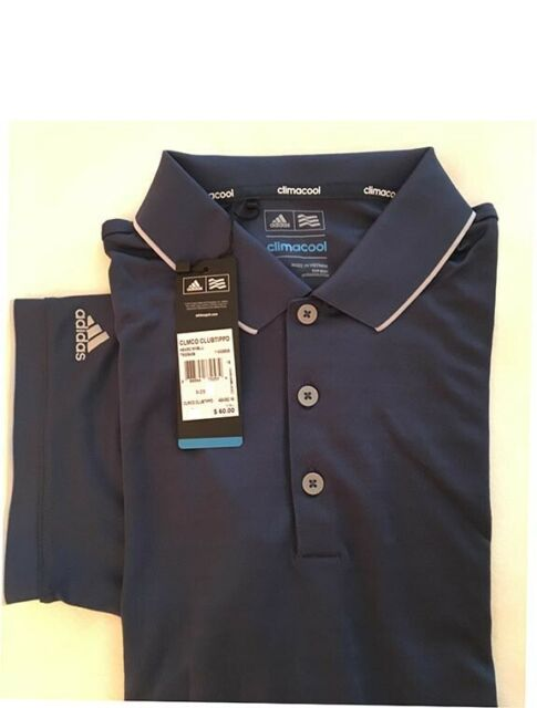 Adidas  ClimaCool Club Tipped Men's Golf Polo Shirt Size L