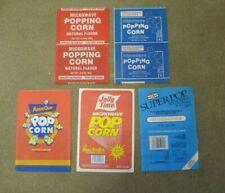 Microwave Popcorn Bags Unused Movie Quick Jolly Time 1987 Minute Brand Etc
