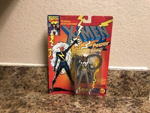 Vintage-Marvel-Comics-X-Men-Power-Glow-Storm-Action-Figure-Toy-Biz-1993
