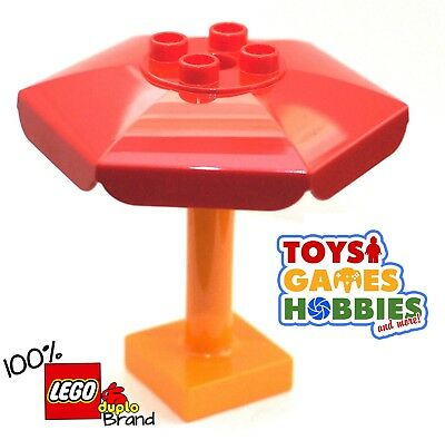 Lego Duplo Item Figure Stand red