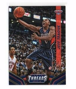Jeff Teague 2014-15 Panini Threads, ( Or), 3/25 Chgfhxys-07233719-189998728