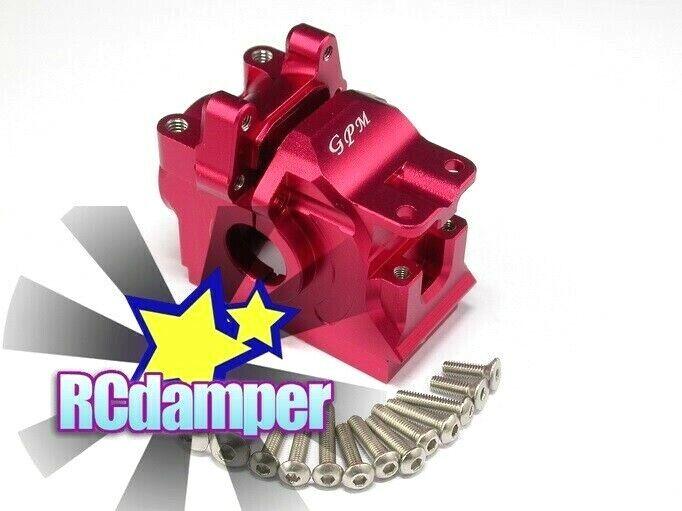 ALUMINUM REAR DIFF GEAR scatola  CASE MOUNT R TRAXXAS RUSTLER SLASH STAMPEDE 4x4 VXL  le migliori marche vendono a buon mercato