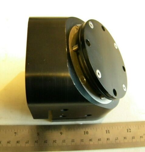 Laser Bend Mirror Mount 1.25 Beam opening  Co2 Silicon Optic 2 x .375 inch thick