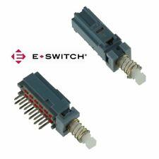 E Switch Miniature Push Button 4pdt Latching Switch