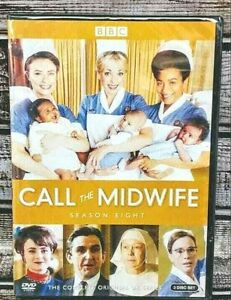 Call-the-Midwife-Complete-Season-8-DVD-3-Disc-Set-New-Free-Fast-Shipping