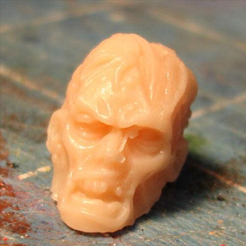 "MH297 Custom Cast zombie head use w//3.75/"" 1:18 HALO GI Joe Star Wars Acid Rain"