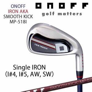 ONOFF-GOLF-JAPAN-AKA-SINGLE-IRON-4-5-A-or-S-SMOOTH-KICK-MP-518I