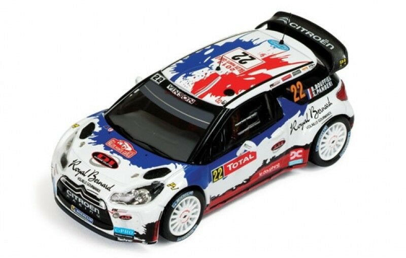 1 43 Citroen DS3 WRC Rally Montecarlo 2013 B. B. B. Bouffier 21b661