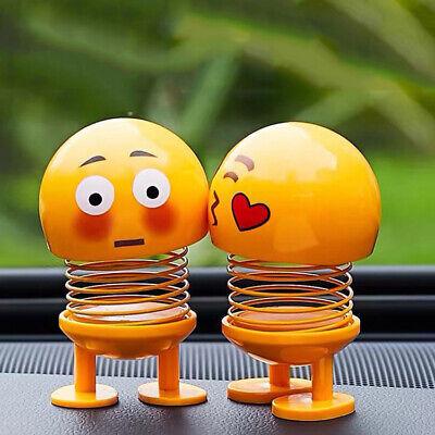 Voiture émoticônes hocher Jouet Emoji Ornements figurine mignon Auto Shaking Head