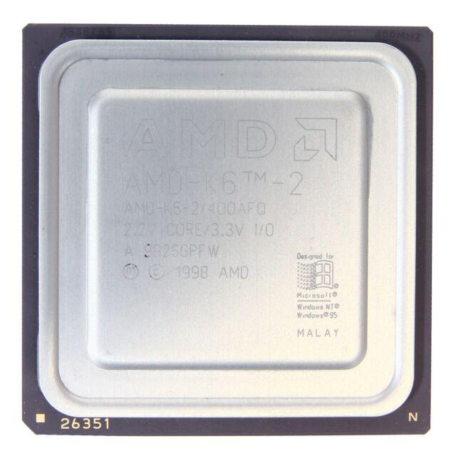 AMD-K6-2/450AHX 450MHz/32KB/100MHz Socket/Socket Super 7 CPU Processor 2.4V