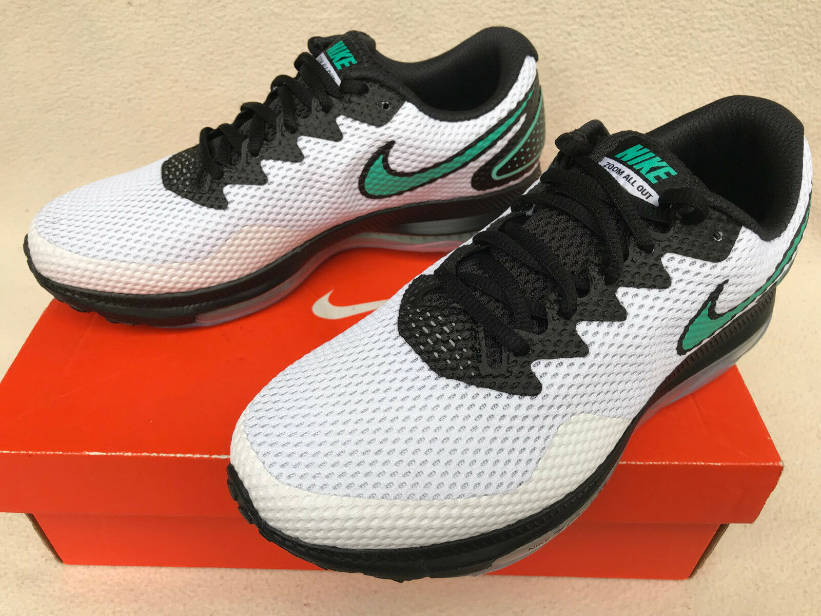new product 1157a 99929 Nike Zoom All Out Low 2 Air Max AJ0035-101 White White White Marathon  Running