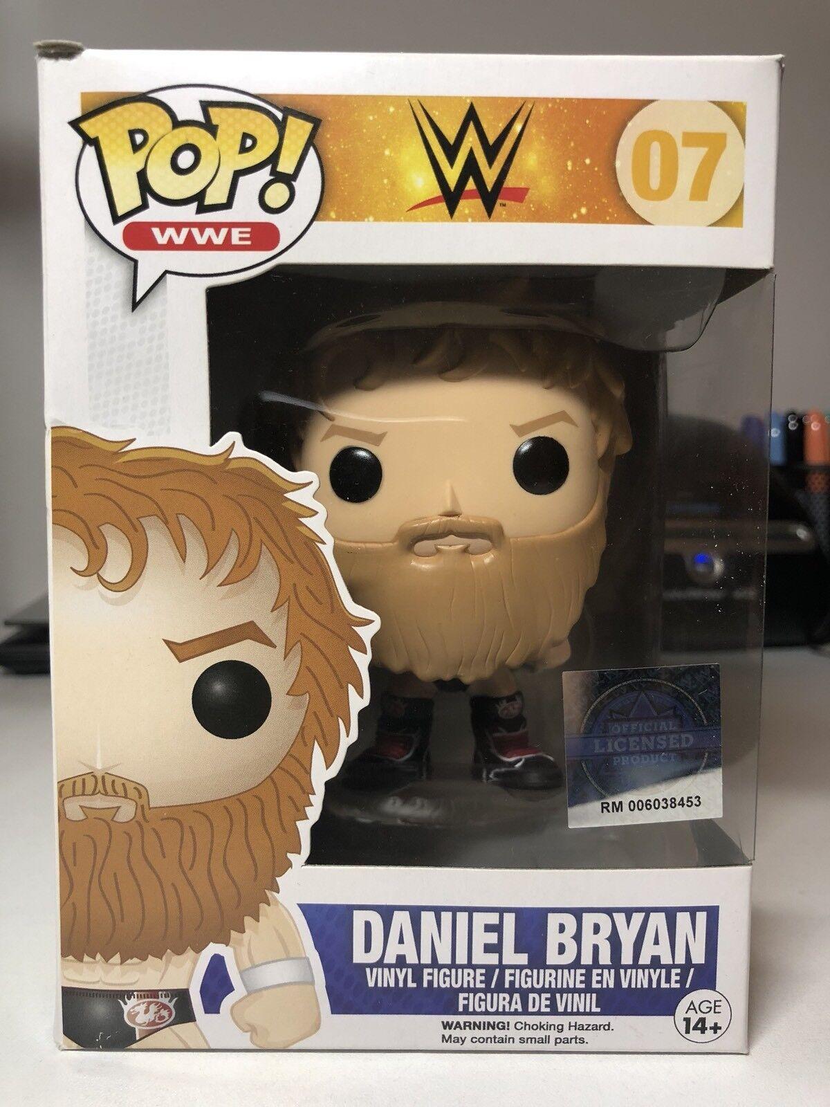 Funko POP WWE Daniel Bryan 07 voûtée Rare  NEUF  endommagé