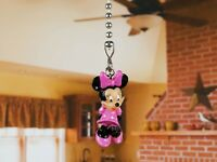 Disney Minnie Mouse Ceiling Fan Pull Cord Light Lamp Chain Decor K1146 A