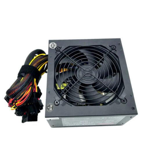 NEW 550 Watt 24//20-pin ATX Computer PC SATA PCI-E Gaming Power Supply 500 Watt