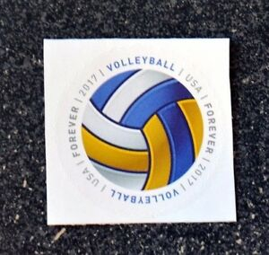 2017USA-Forever-Have-a-Ball-Volleyball-Single-Postage-Stamp-Mint