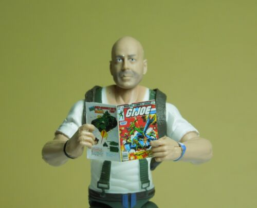 GI Joe #1 and IDW GI Joe ARAH #175 1//18 Scale Comic Books