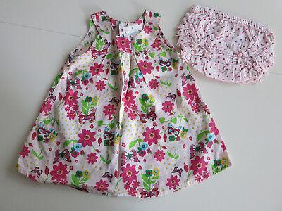 @@@ Süßes Sommerset Mädchenkleid Mit Höschen Von H&m In Gr.68 Neu @@@