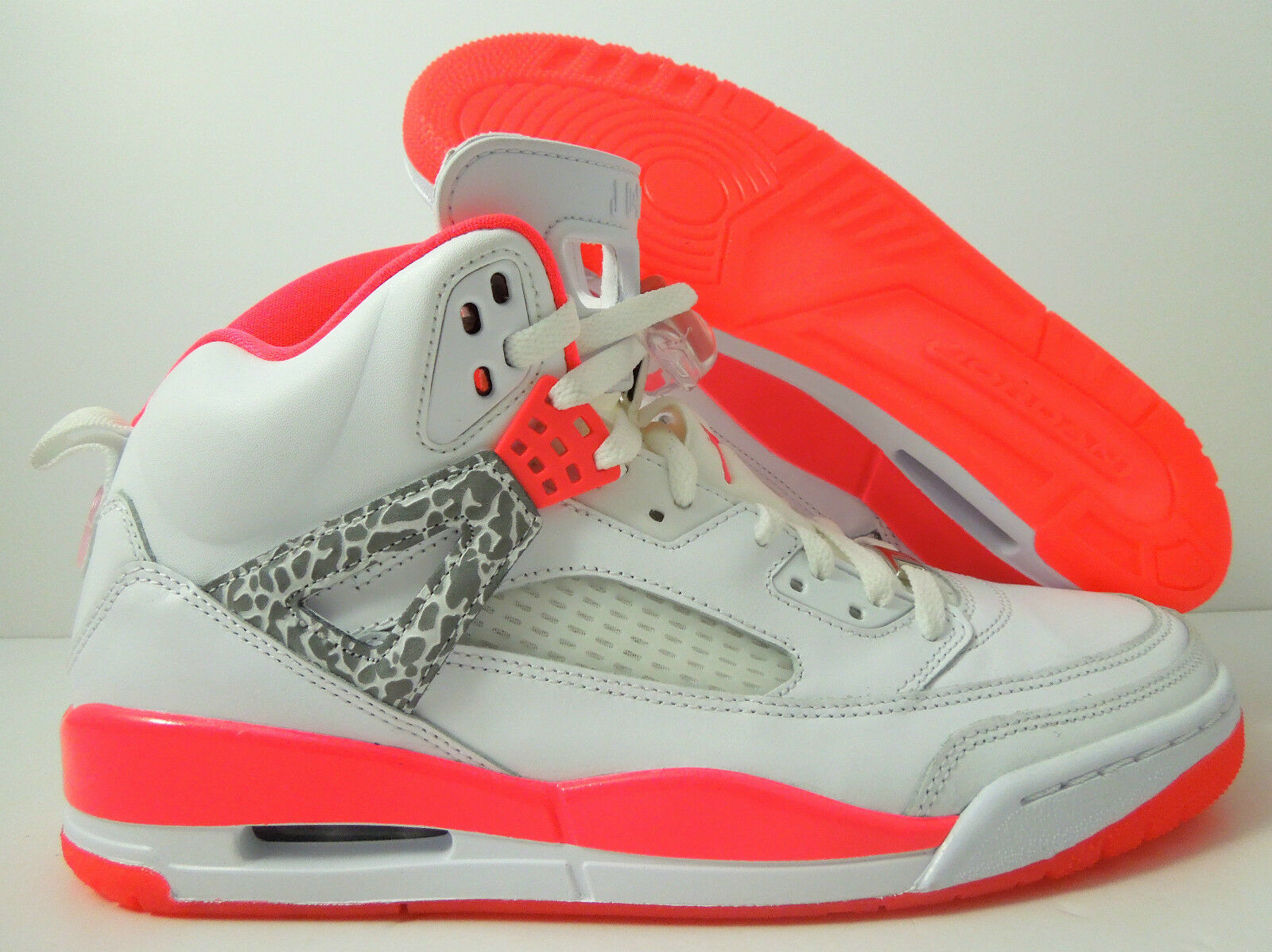 NIKE AIR JORDAN SPIZIKE iD WHITE-HOT CORAL SZ 10.5 [605236-991]