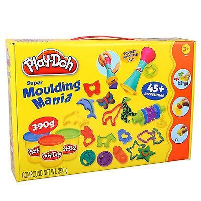 Play-Doh 22440 Spielknete Set SUPER WUNDERKISTE mit Knete und viel Zubehör