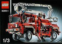 Lego Technic 8289 Fire Truck Sealed - Ships World Wide