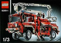 Lego Technic 8289 Fire Truck Sealed - Ships World Wide