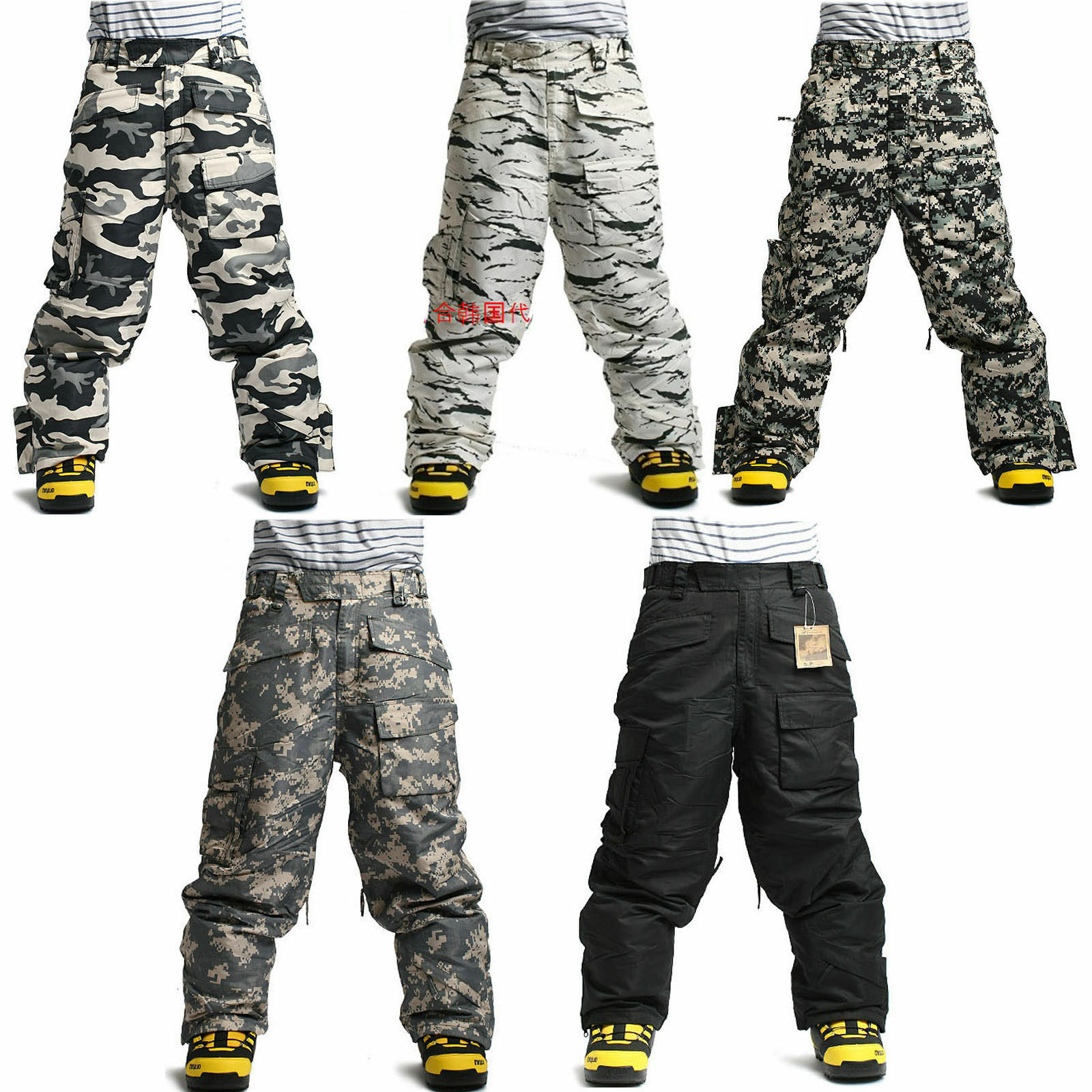 Southplay Winter Premium Waterproof  Military Ski-Snowboard Pants Collection