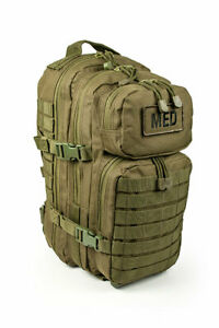 ELITE FIRST AID Tactical Trauma Kit #3 STOCKED w/ Backpack Medic Survival ODG