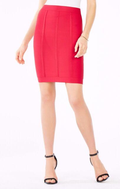effc87f83c BCBG Max Azria NewRed Nita Lined Pencil Skirt Lhl3e605/ab263 Size XS ...