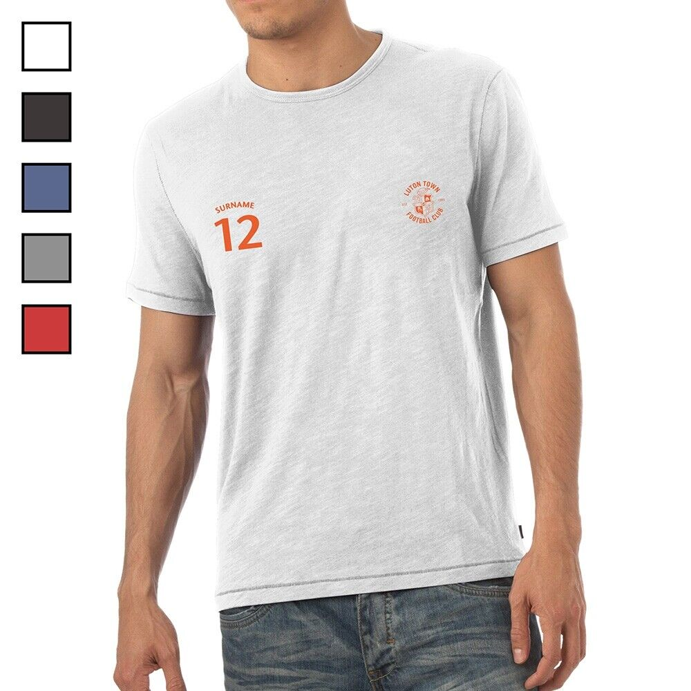 Luton Town F.C - Personalised Mens T-Shirt (SPORTS)