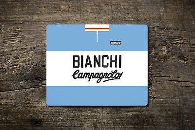Bianchi-campag Replica Team Jersey Di Lana-tappetino Mouse-bike Ninja Ciclismo Ro.- Alta Qualità E Poco Costoso