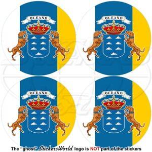 Canaries Iles, 50mm Vinyle Autocollant X4 Q7i0ma3t-07230902-269143804