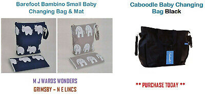 Caboodle Changing Bag High Quality  BACKPACK with mat  RP£40