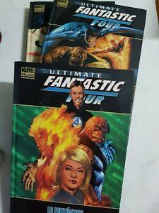 Fantastic Four Col.completa 3 Tomos Integrales Descat. Panini Estado Muy Bueno