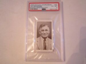 1938-TED-BROADRIBB-45-WA-amp-AC-CHURCHMAN-BOXING-CARD-PSA-GRADED-PSA-6-BN-20